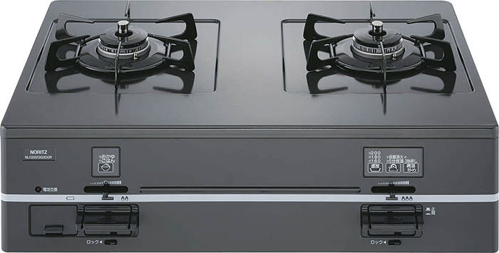 7位:グリルなしのシンプルなガスコンロならノーリツの「NLC2223」